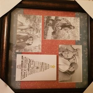 Christmas Frame with 3 openings